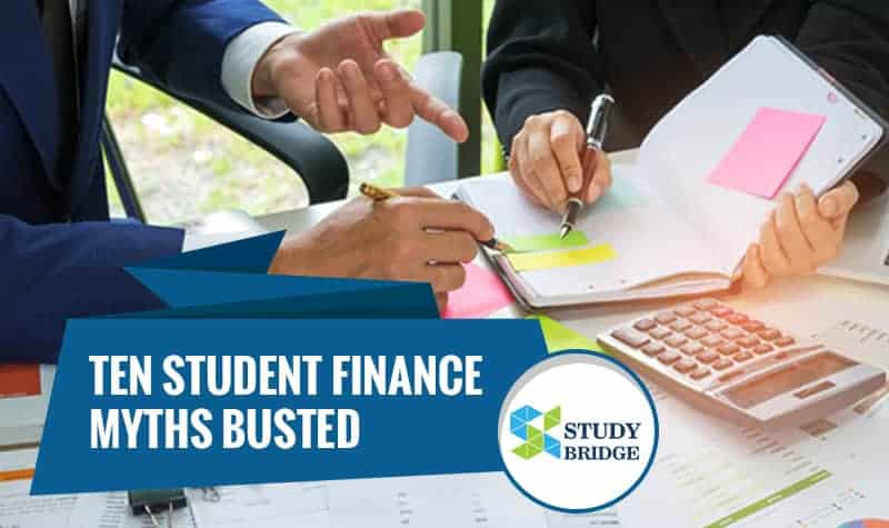 Ten student finance myths busted