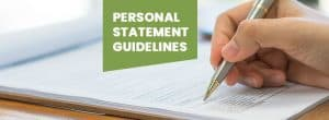 Personal Statement Guidelines