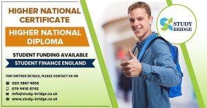 study HNC/HND in UK