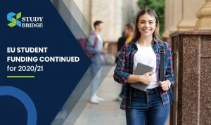 EU student funding continued for 2020/21
