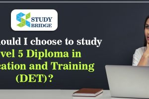 Why should I choose to study Level 5 DET