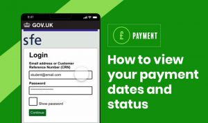 How to view your payment dates and status