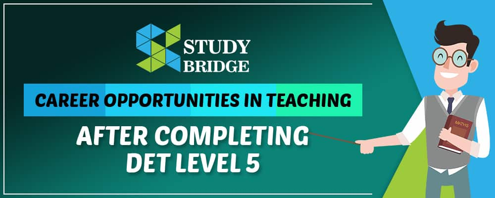 Teaching Career After Level 5 Diploma In Education And Training