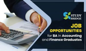 Job Opportunities for BA in Accounting and Finance Graduates