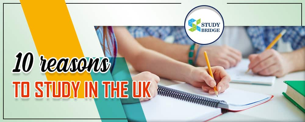 10 reasons to study in the UK
